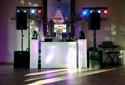Bruiloft DJ Gold show