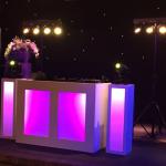 DJ show trouwen