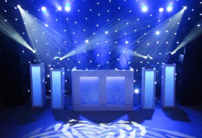 Huwelijk DJ Platinum show