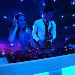 DJ en Sax op bruiloft