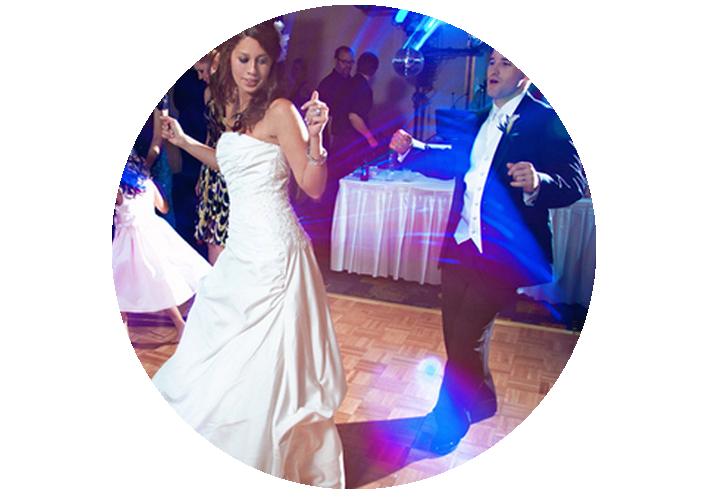 Openingsdans mix door de bruiloft dj