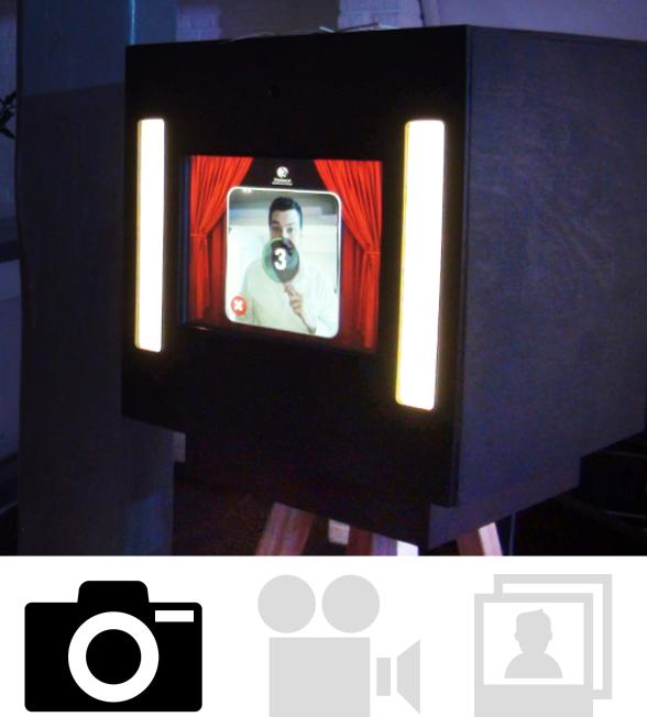 Photobooth bij de huwelijksdj