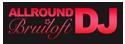 Logo allround Bruiloft DJ