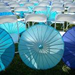 Parasol tegen de zon